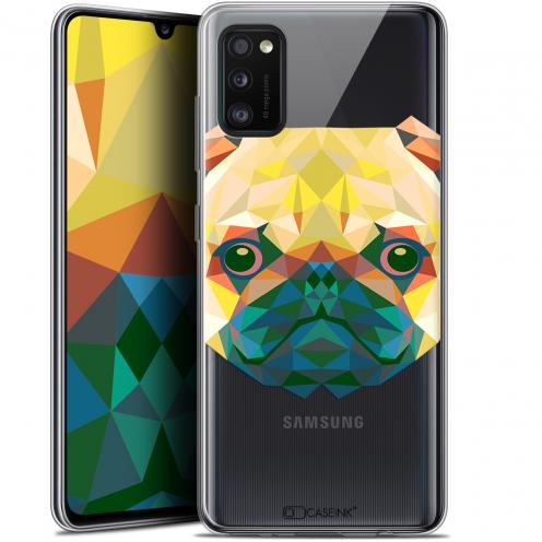 """Coque Gel Samsung Galaxy A41 (6.1"""") Extra Fine Polygon Animals - Chien"""