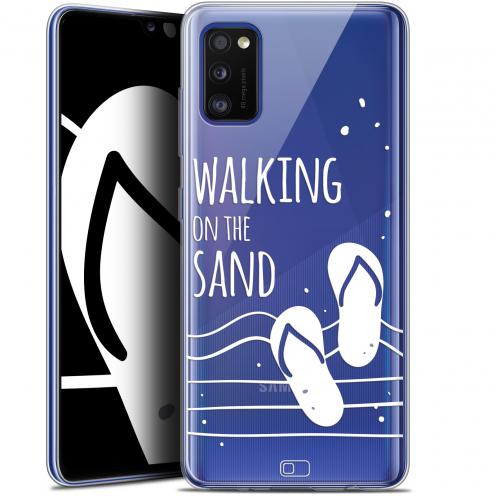 "Coque Gel Samsung Galaxy A41 (6.1"") Extra Fine Summer - Walking on the Sand"