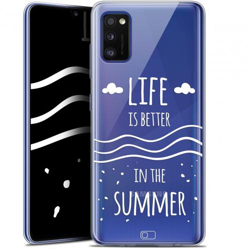"Coque Gel Samsung Galaxy A41 (6.1"") Extra Fine Summer - Life's Better"