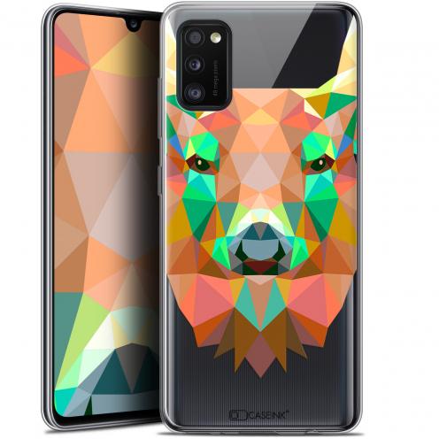 "Coque Gel Samsung Galaxy A41 (6.1"") Extra Fine Polygon Animals - Cerf"