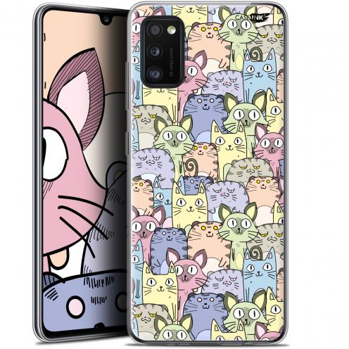 "Coque Gel Samsung Galaxy A41 (6.1"") Extra Fine Motif - Foule de Chats"
