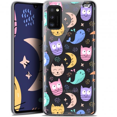 """Coque Gel Samsung Galaxy A41 (6.1"""") Extra Fine Motif - Chat Hibou"""