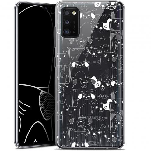 "Coque Gel Samsung Galaxy A41 (6.1"") Extra Fine Motif - Chien Blanc"