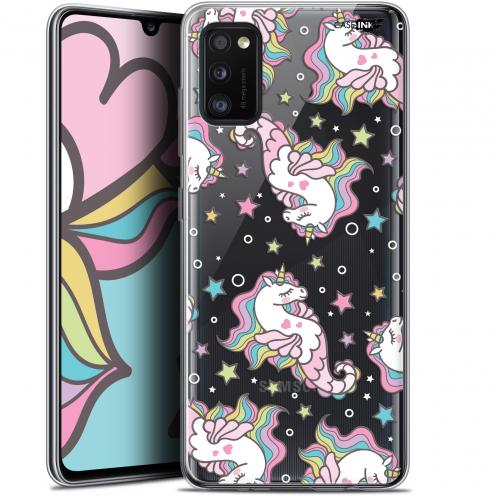 "Coque Gel Samsung Galaxy A41 (6.1"") Extra Fine Motif - Licorne Dormante"