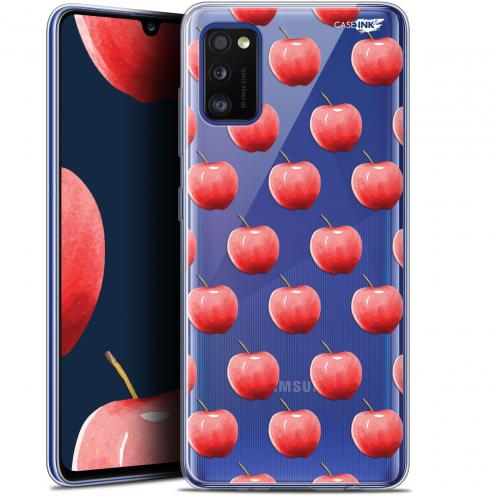 "Coque Gel Samsung Galaxy A41 (6.1"") Extra Fine Motif - Cerises"