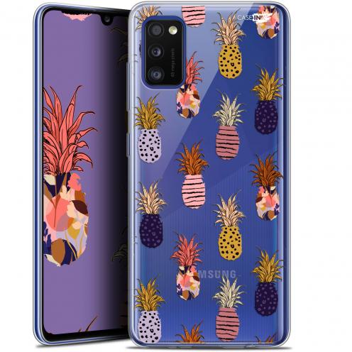 "Coque Gel Samsung Galaxy A41 (6.1"") Extra Fine Motif - Ananas Gold"