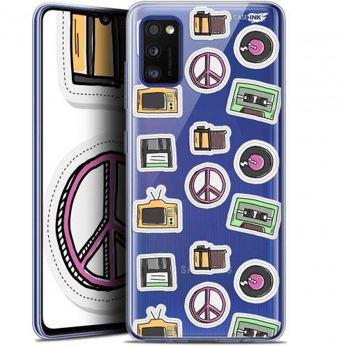 """Coque Gel Samsung Galaxy A41 (6.1"""") Extra Fine Motif - Vintage Stickers"""