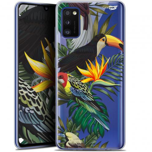 "Coque Gel Samsung Galaxy A41 (6.1"") Extra Fine Motif - Toucan Tropical"