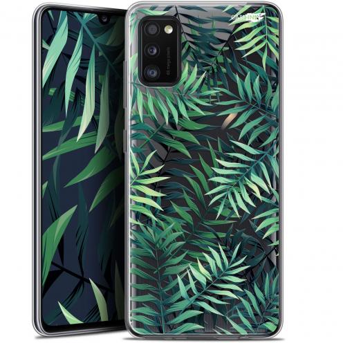 """Coque Gel Samsung Galaxy A41 (6.1"""") Extra Fine Motif - Feuilles des Tropiques"""