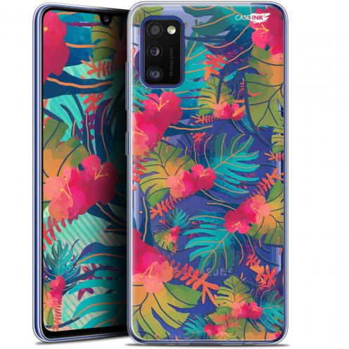 "Coque Gel Samsung Galaxy A41 (6.1"") Extra Fine Motif - Couleurs des Tropiques"