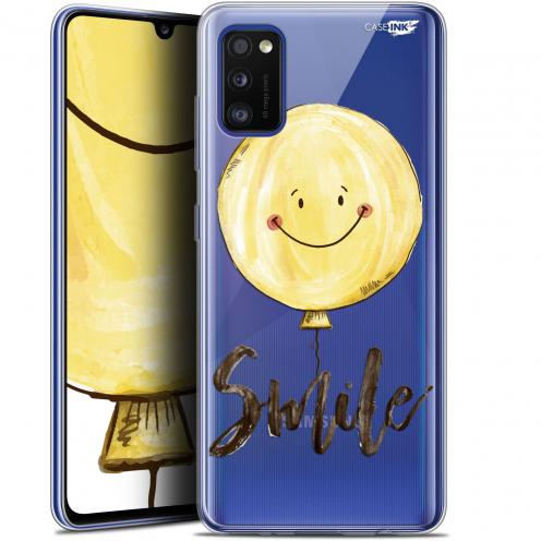 "Coque Gel Samsung Galaxy A41 (6.1"") Extra Fine Motif - Smile Baloon"