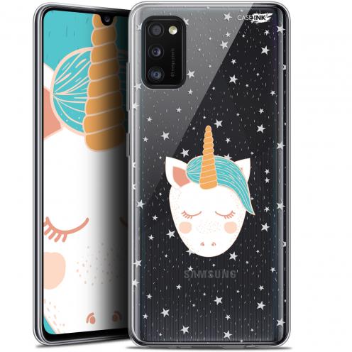 """Coque Gel Samsung Galaxy A41 (6.1"""") Extra Fine Motif - Licorne Dors"""