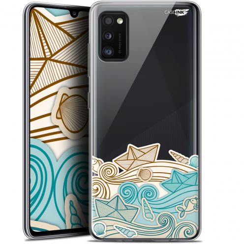 "Coque Gel Samsung Galaxy A41 (6.1"") Extra Fine Motif - Bateau de Papier"