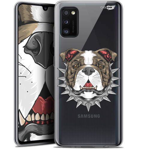 "Coque Gel Samsung Galaxy A41 (6.1"") Extra Fine Motif - Doggy"