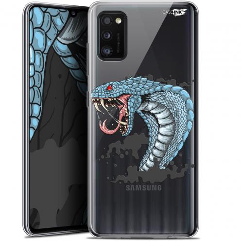 """Coque Gel Samsung Galaxy A41 (6.1"""") Extra Fine Motif - Cobra Draw"""