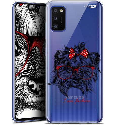 "Coque Gel Samsung Galaxy A41 (6.1"") Extra Fine Motif - Fashion Dog"