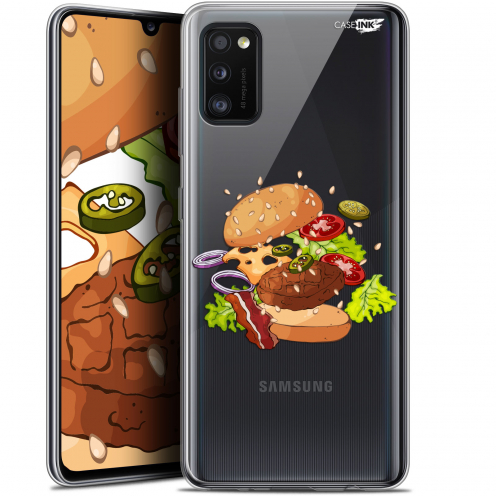"Coque Gel Samsung Galaxy A41 (6.1"") Extra Fine Motif - Splash Burger"