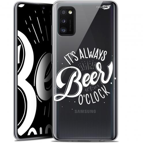 "Coque Gel Samsung Galaxy A41 (6.1"") Extra Fine Motif - Its Beer O'Clock"