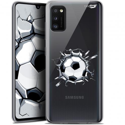 """Coque Gel Samsung Galaxy A41 (6.1"""") Extra Fine Motif - Le Balon de Foot"""