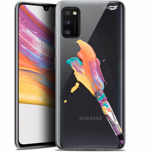 """Coque Gel Samsung Galaxy A41 (6.1"""") Extra Fine Motif - Pinceau de Peinture"""