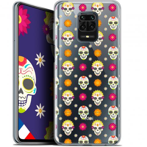 """Coque Gel Xiaomi Redmi Note 9S (6.67"""") Extra Fine Halloween - Skull Halloween"""