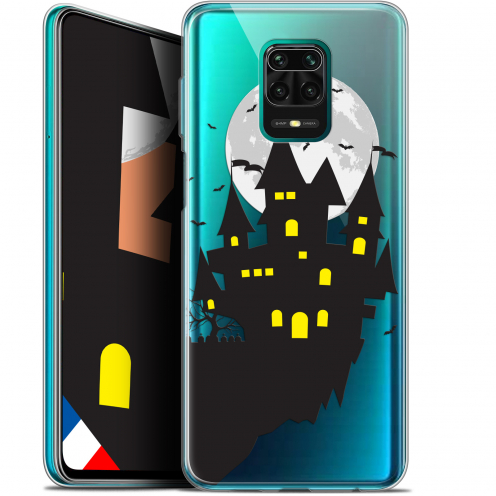 "Coque Gel Xiaomi Redmi Note 9S (6.67"") Extra Fine Halloween - Castle Dream"