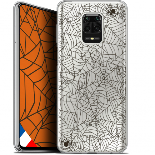 "Coque Gel Xiaomi Redmi Note 9S (6.67"") Extra Fine Halloween - Spooky Spider"
