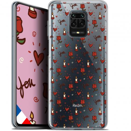 "Coque Gel Xiaomi Redmi Note 9S (6.67"") Extra Fine Love - Bougies et Roses"