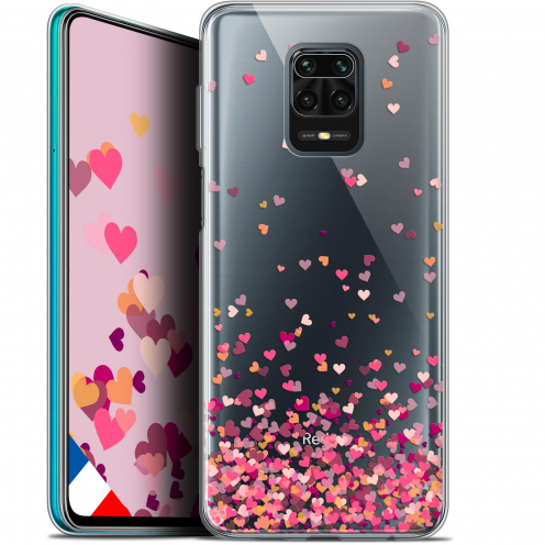 "Coque Gel Xiaomi Redmi Note 9S (6.67"") Extra Fine Sweetie - Heart Flakes"