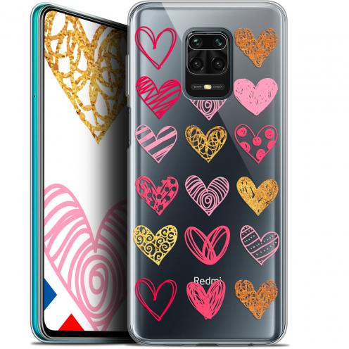 """Coque Gel Xiaomi Redmi Note 9S (6.67"""") Extra Fine Sweetie - Doodling Hearts"""