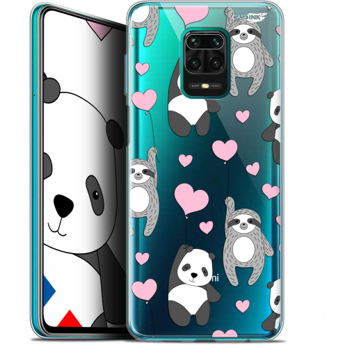 "Coque Gel Xiaomi Redmi Note 9S (6.67"") Extra Fine Motif - Panda'mour"