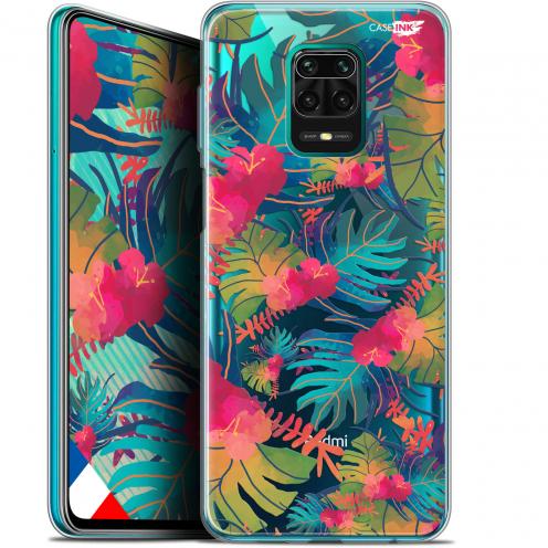 "Coque Gel Xiaomi Redmi Note 9S (6.67"") Extra Fine Motif - Couleurs des Tropiques"