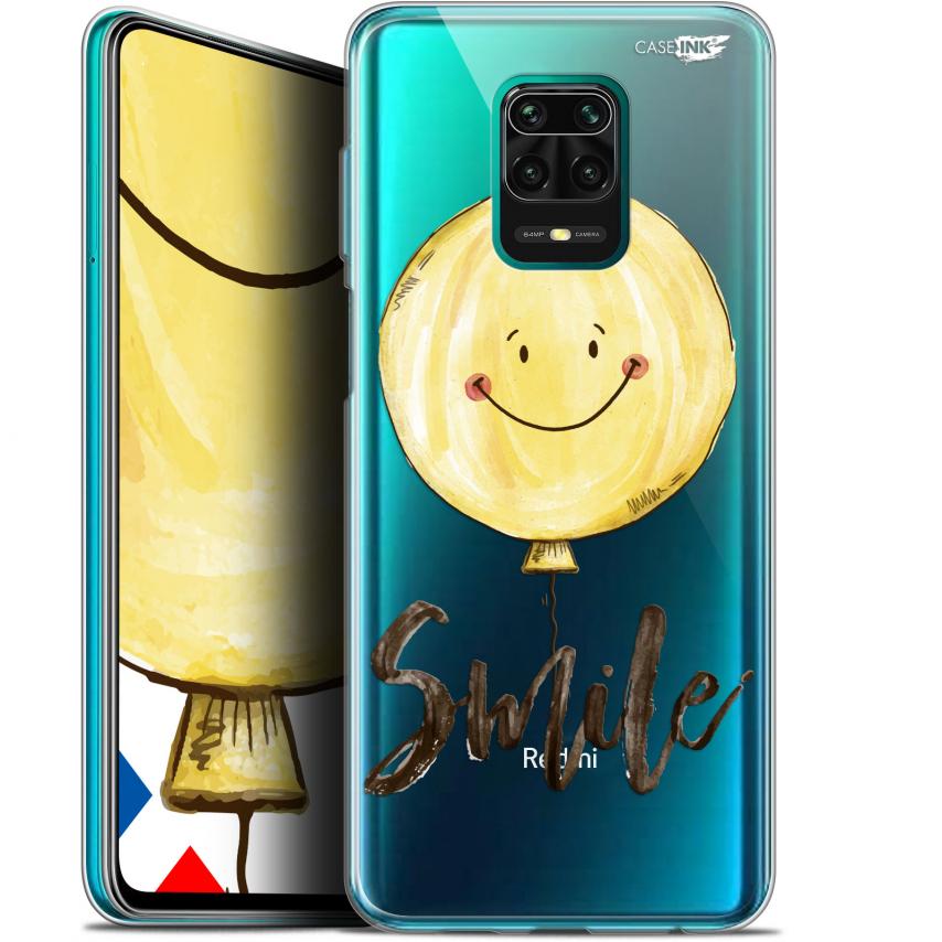 "Coque Gel Xiaomi Redmi Note 9S (6.67"") Extra Fine Motif - Smile Baloon"