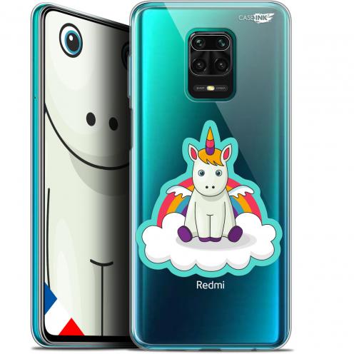 "Coque Gel Xiaomi Redmi Note 9S (6.67"") Extra Fine Motif - Bébé Licorne"