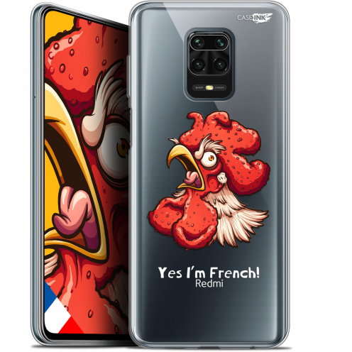 "Coque Gel Xiaomi Redmi Note 9S (6.67"") Extra Fine Motif - I'm French Coq"