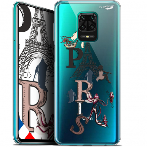"Coque Gel Xiaomi Redmi Note 9S (6.67"") Extra Fine Motif - Stylish Paris"