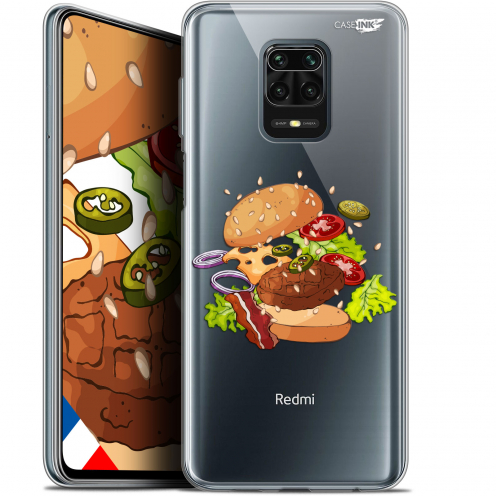 "Coque Gel Xiaomi Redmi Note 9S (6.67"") Extra Fine Motif - Splash Burger"