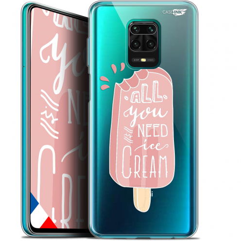 "Coque Gel Xiaomi Redmi Note 9S (6.67"") Extra Fine Motif - Ice Cream"