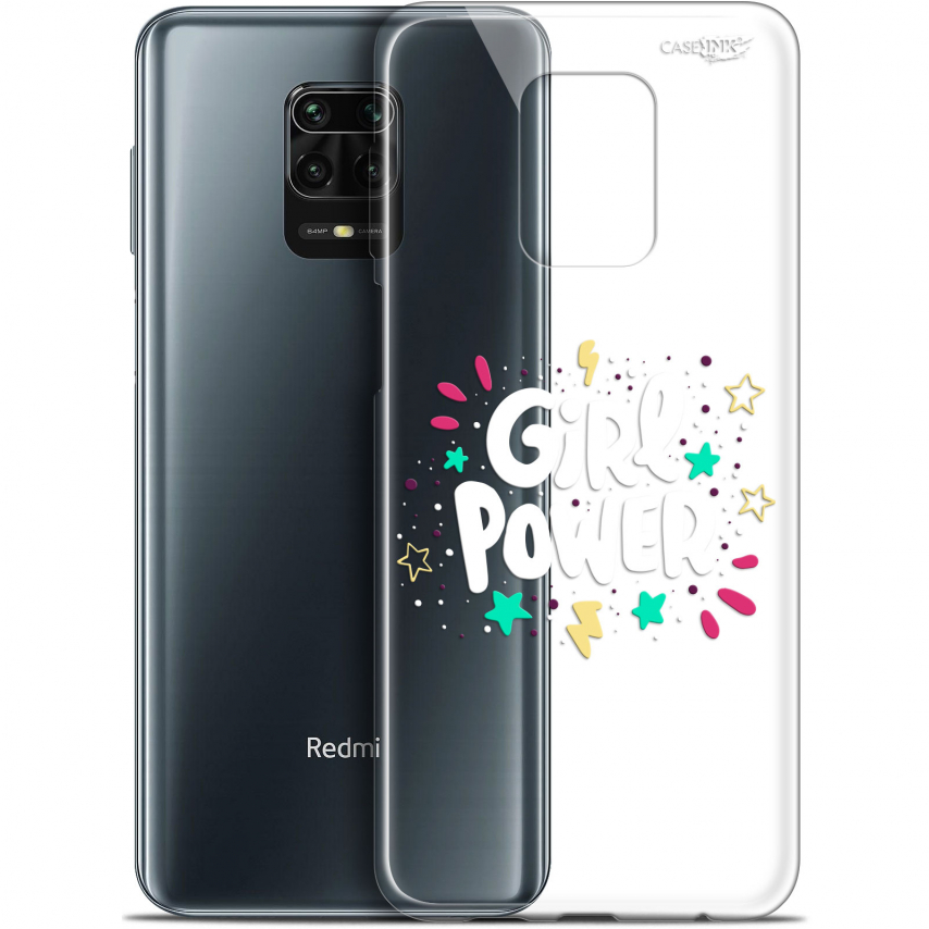 "Coque Gel Xiaomi Redmi Note 9S (6.67"") Extra Fine Motif - Girl Power"