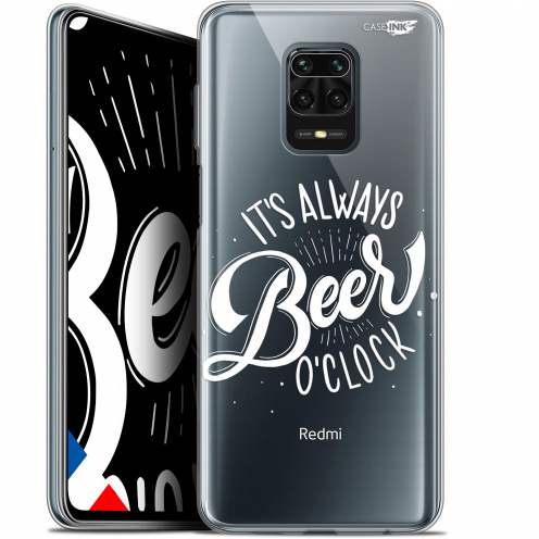 "Coque Gel Xiaomi Redmi Note 9S (6.67"") Extra Fine Motif - Its Beer O'Clock"