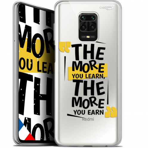 "Coque Gel Xiaomi Redmi Note 9S (6.67"") Extra Fine Motif - The More You Learn"