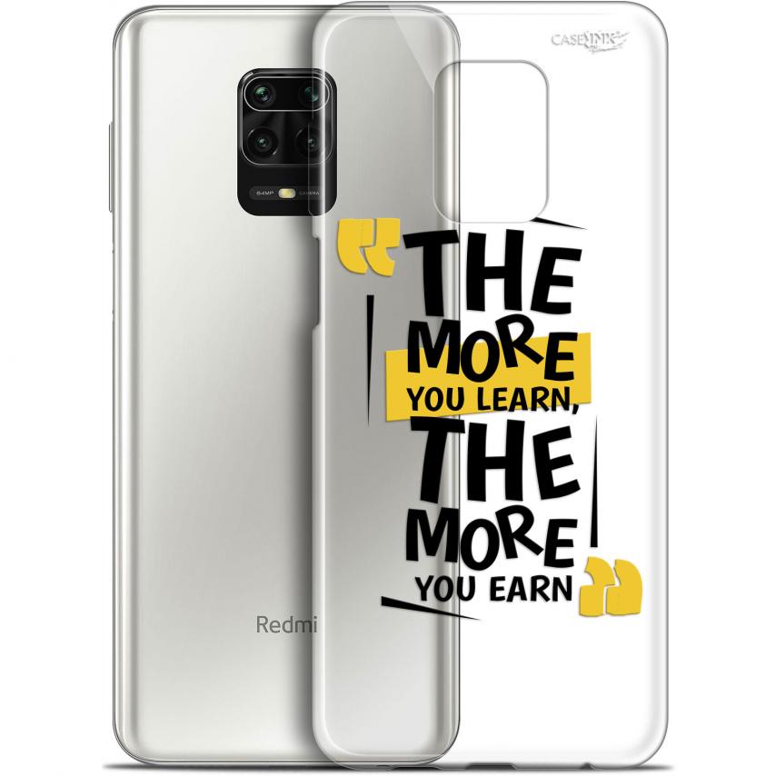 "Coque Gel Xiaomi Redmi Note 9S (6.67"") Extra Fine Motif - The More You Learn"
