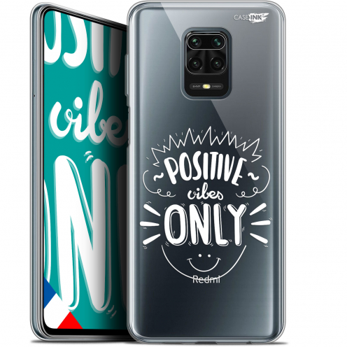 "Coque Gel Xiaomi Redmi Note 9S (6.67"") Extra Fine Motif - Positive Vibes Only"