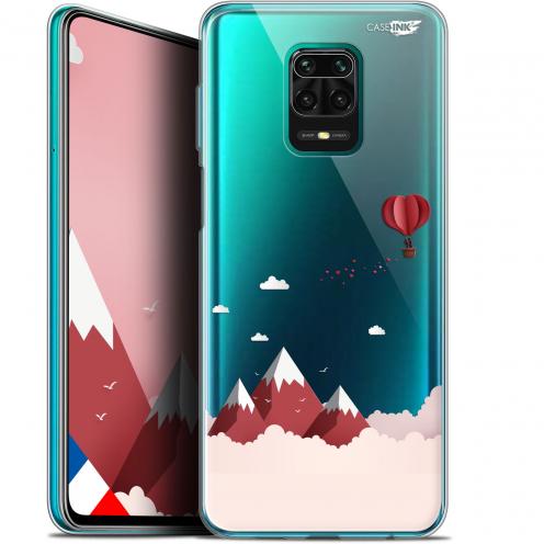 """Coque Gel Xiaomi Redmi Note 9S (6.67"""") Extra Fine Motif - Montagne En Montgolfière"""