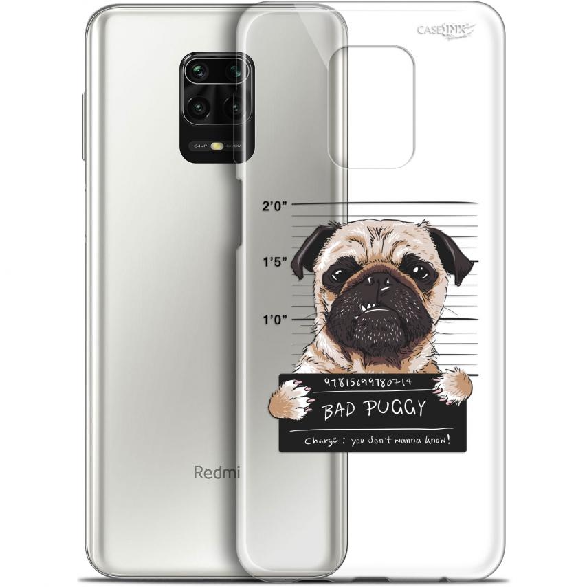 "Coque Gel Xiaomi Redmi Note 9S (6.67"") Extra Fine Motif - Beware The Puggy Dog"