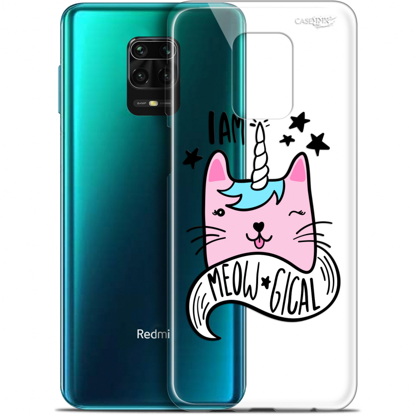 "Coque Gel Xiaomi Redmi Note 9S (6.67"") Extra Fine Motif - I Am MEOUgical"