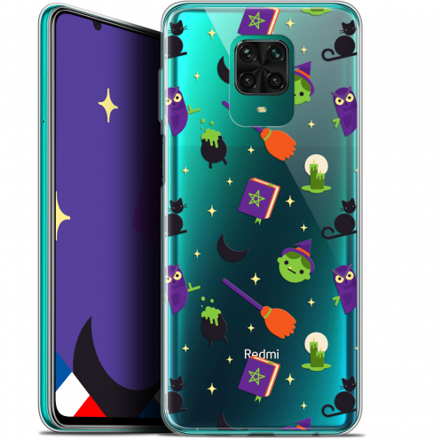 "Coque Gel Xiaomi Redmi Note 9 PRO (6.67"") Extra Fine Halloween - Witch Potter"
