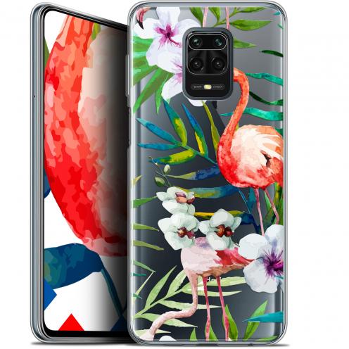 """Coque Gel Xiaomi Redmi Note 9 PRO (6.67"""") Extra Fine Watercolor - Tropical Flamingo"""