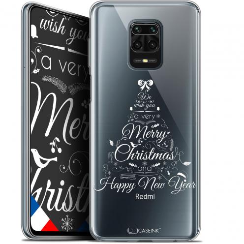 "Coque Gel Xiaomi Redmi Note 9 PRO (6.67"") Extra Fine Noël - Calligraphie"