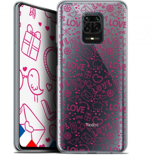 "Coque Gel Xiaomi Redmi Note 9 PRO (6.67"") Extra Fine Love - Doodle"